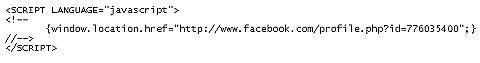 url redirect html